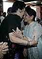 President Gloria Macapagal-Arroyo receives a warm embrace from former First Lady Imelda Marcos.jpg