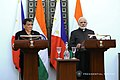 President Rodrigo Roa Duterte and Indian Prime Minister Narendra Modi declare their joint statement following a successful bilateral meeting at Hyderabad House.jpg