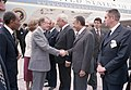 President Sadat at the arrival of President Jimmy Carter and Mrs. Rosalynn Carter in Cairo, March 8, 1979 (10729693614).jpg