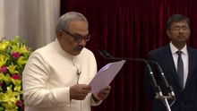 File:President administering the oath of office of the Vice President of India -11-08-17.webm