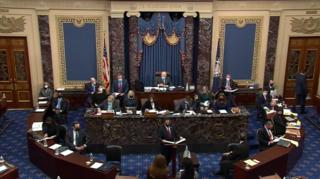 Second impeachment trial of Donald Trump Second impeachment trial of Donald Trump in the United States Senate