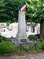 Presles (95), monument aux morts, place de l'église (au sud).jpg