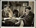 """Press photo of James Dunn and Spencer Tracy in """"Society Girl"""" - front.jpg"""