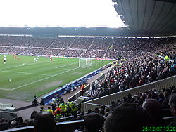 Pride Park Stadium South Stand.JPG