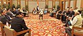 Prime Minister Narendra Modi meets Heads of Delegations of like-minded developing countries, in the run-up to COP-21.jpg