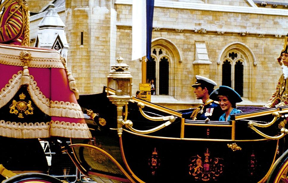 Prince Charles, Lady Di, 19860723