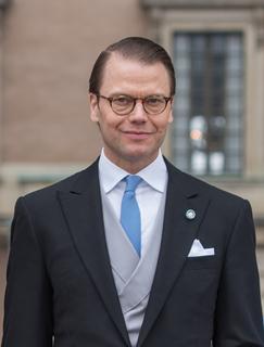 Prince Daniel, Duke of Västergötland Swedish royal