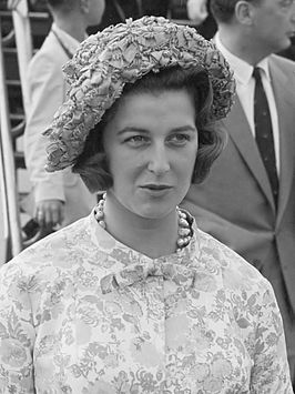 Prinses Alexandra in 1961