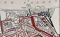 Printed Map Descriptive of London Poverty. Sheet 13(?) covering Woolwich (22643234567) (cropped) (cropped).jpg
