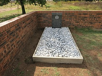 "Lord Strathcona's Horse (Royal Canadians) - Farm ""Paardefontein"" R547, near Val, Mpumalanga. Here lies a British Soldier This is believed to be the grave of Private Angust Jenkins of Strathcona's Horse who was killed in action near this place on Canada Day, 1 July 1900 during the Anglo-Boer War (Monument sponsored by David Scholtz, member of the Military History Society)"
