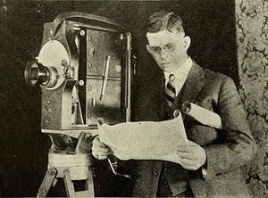 Prizma - William Van Doren Kelley and his invention, the Prizma color camera.