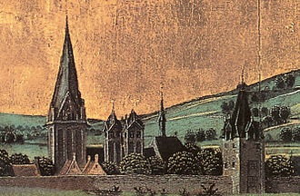 Dortmund -  St. Marys and St.Reinolds in 1470