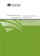 Productivity Commission, Intellectual Property Arrangements, Inquiry Report.pdf