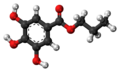 Propyl gallate 3D ball.png