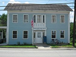 Prosperity Post Office on Pennsylvania Route 18