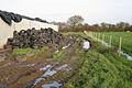Public footpath, Southfield Farm - geograph.org.uk - 1618316.jpg
