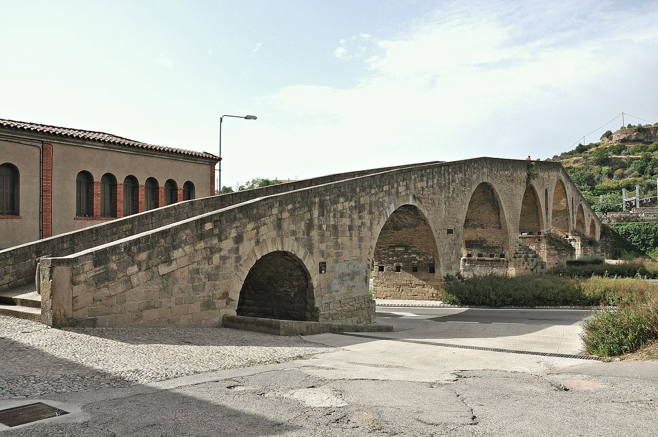 File puente viejo de manresa jpg wikimedia commons - Exteriores puente viejo ...