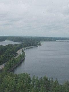 Punkaharju Former municipality in Southern Savonia, Finland