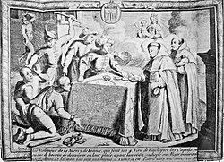 Rachat de captifs chrétiens à Alger par des Mercédaires (vers 1670)
