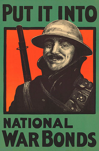 War bond - United Kingdom national war bond advertisement (1918)