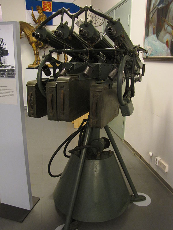 Зенитная пулеметная установка м4 образца 1931 года