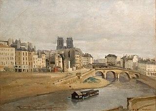 Quai des Orfèvres et pont Saint-Michel