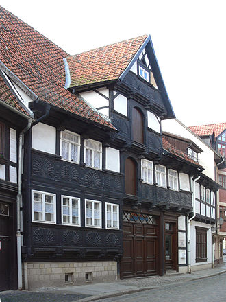 Quedlinburg - Half-timbered house