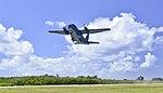 RAAF C-27 taking off in February 2018.jpg