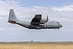 RNZAF (NZ7005) Lockheed C-130H Hercules flying display at last day of the 2019 Australian International Airshow (4).jpg