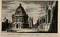 Radcliffe Camera, Oxford; panoramic view with All Souls Coll Wellcome V0014206.jpg