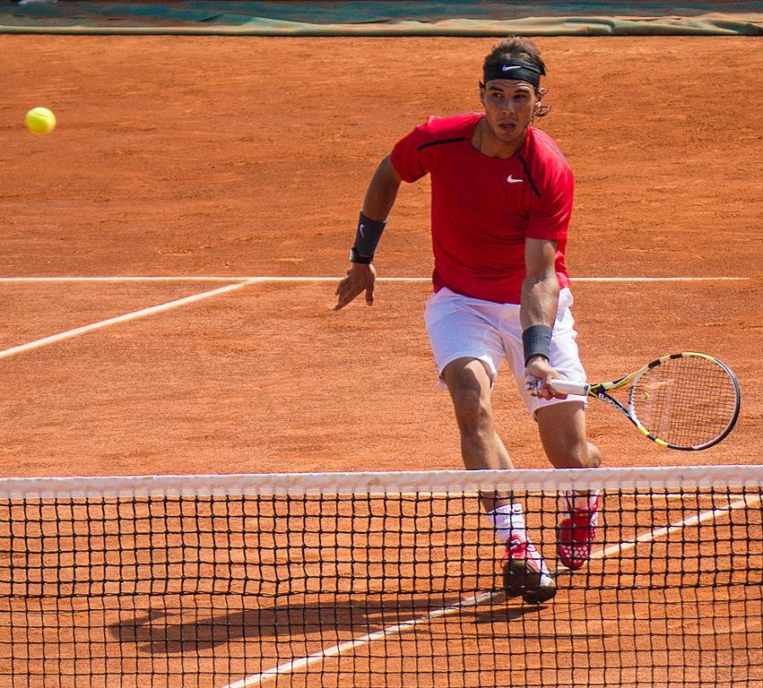 Rafael Nadal (Wikimedia Commons).