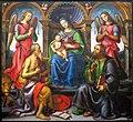 Raffaellino del garbo, madonna in trono con santi, 1502.JPG