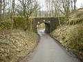 Railway bridge over Mow Halls Lane - geograph.org.uk - 1177874.jpg