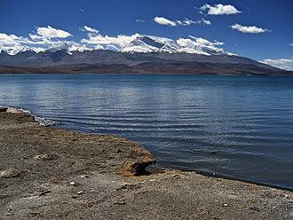 Lake Rakshastal - View South from Rakshas Tal Lake (2006)