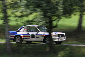 Rally Bohemia 2012 (historic show, SS26 Sychrov) - Opel Ascona 400 02.JPG