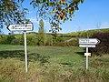Rallye des vignobles 2019, 17, Chavignol, panneaux.jpg