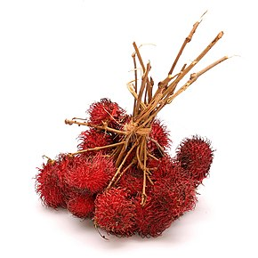 Fruits de rambutan