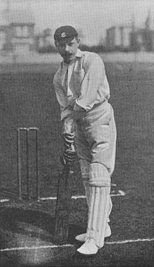 Ranji 1897 page 423 Abel at the wicket.jpg