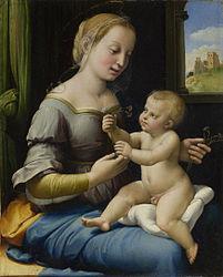 Raphael: Madonna of the Pinks