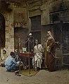 Raphael von Ambros Tabakverkäufer Kairo 1891.jpg