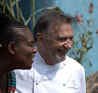 Raymond Blanc French chef