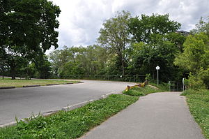 Raymore Drive - Image: Raymore Drive in Raymore Park