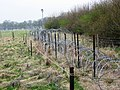 Razor Wire Defences - Demonstration Area, RAF Halton - geograph.org.uk - 1232061.jpg