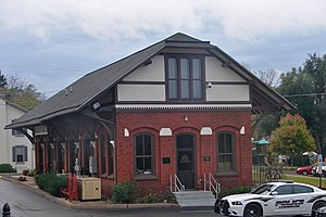 Reading Railroad Freight Station - Lewisburg Freight Depot, October 2011