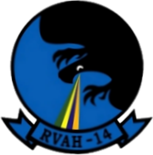 RVAH-14 - Image: Recon Heavy Attack Squadron 14 (USN) patch