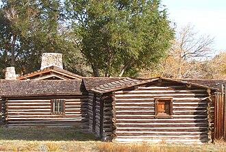 Casper, Wyoming - Buildings at Ft. Caspar