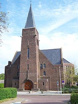 Gereformeerde kerk oosterkerk in kollum monument - Expressionistische architectuur ...