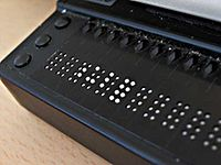 Refreshable Braille display