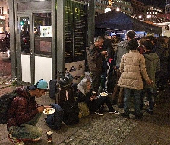 Дания занимает 17-е место в Европе по количеству беженцев на душу населения