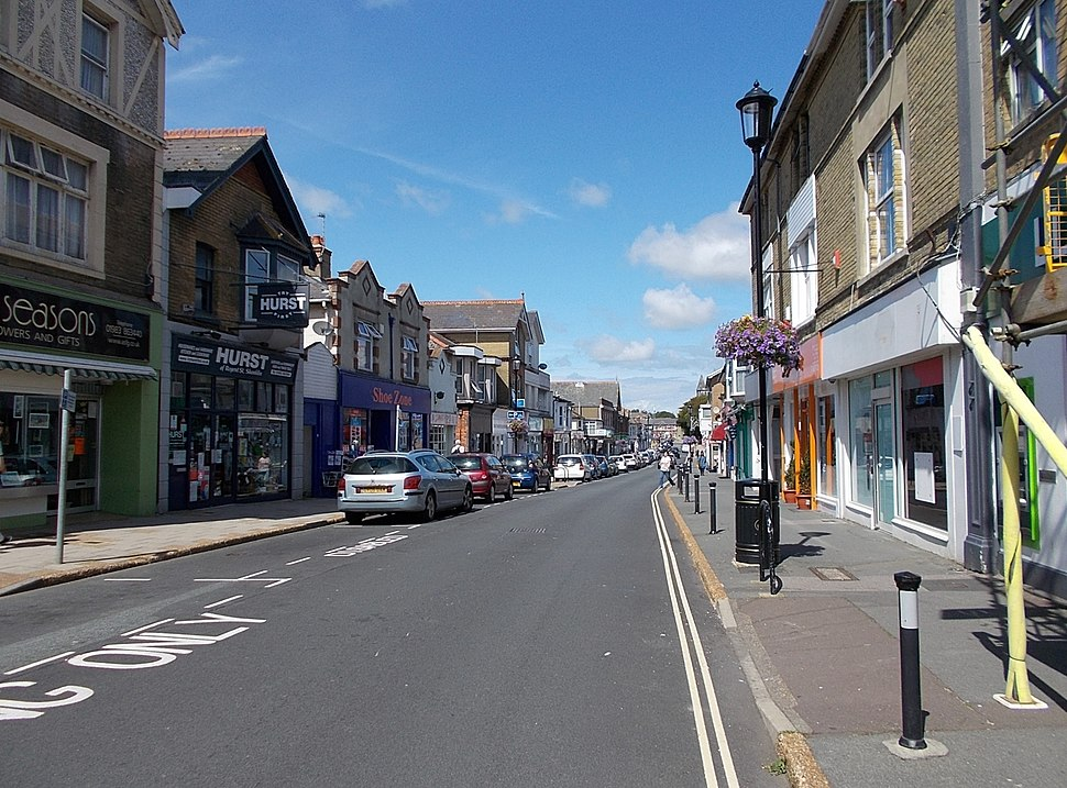 Regent St, Shanklin, IW, UK